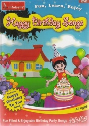 Happy Birthday Songs (Animated DVD)