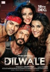 Dilwale  (Hindi Audio CD)